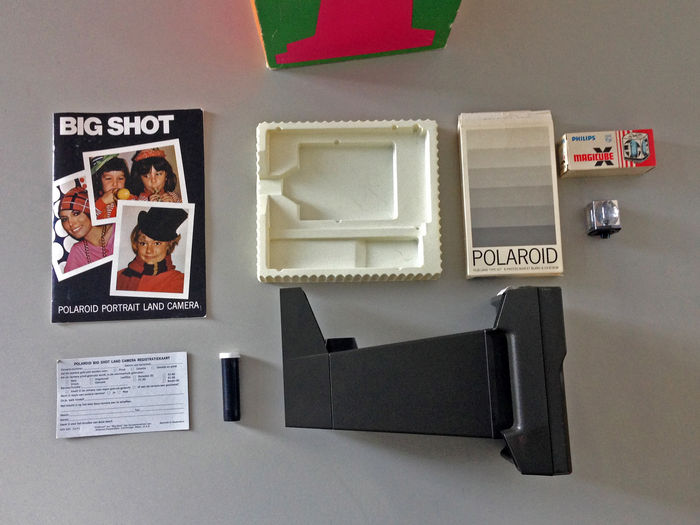 Polaroid BIG SHOT camera (1971)