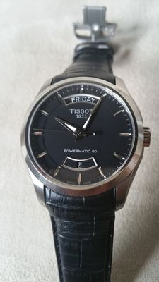 Tissot, Couturier men's wristwatch, 2015, Swiss made