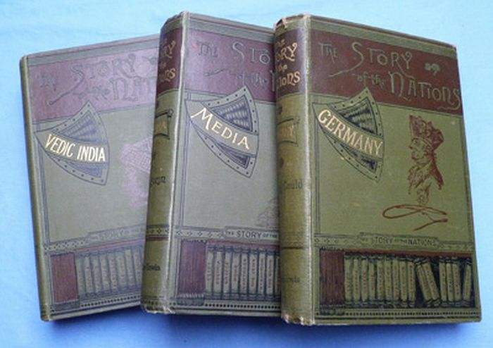 Shackleton; Zenaide A. Ragozin - The Story of the Nations - 3 volumes - 1889