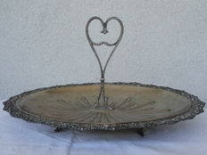 Cake stand in Silver, Italy, Lombardo, early 1900