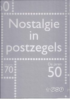 """The Netherlands 2008/2010 – Collection album """"Nostalgia in stamps"""", complete"""
