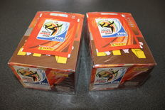Panini - WC 2010 South Africa - 2 boxes - New in factory seal.