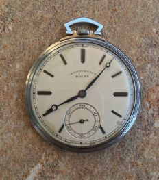 Rolex Military  Rare Collectors Pocket Watch,