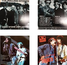 "The Rolling Stones  Lot Of Two  LP's  ""Each Stone Unplugged""  &  ""Suckin' On The Soundboard / England 1973"""