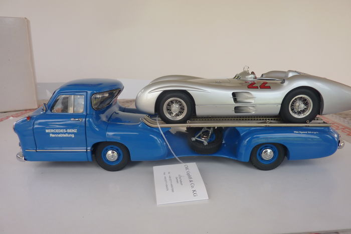 Cmc scale mercedes benz rentransporter no m and