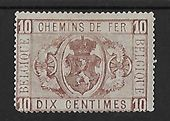 Check out our Belgium 1879 - Railway Stamp - OBP TR1