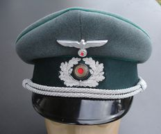 Peaked Cap of a Wehrmacht Official, Army, WW II