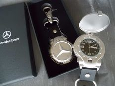 Mercedes-Benz - Key chain with spring lid watch