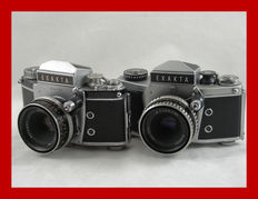 2 Exakta cameras, the Varex IIB and the VX 1000 from the early '60s