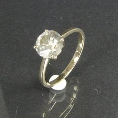 Solitaire Diamond ring 1.15 ct; size 51, 16.25 mm
