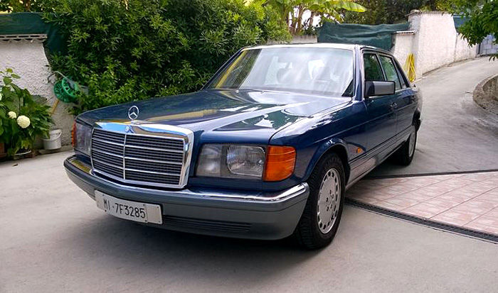 Mercedes 500 sel car for sale in uk view 198 bargains for Mercedes benz w126 for sale