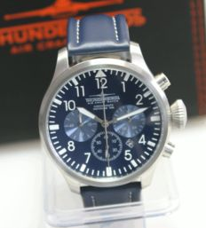 Thunderbirds Chronograph made by EICHMÜLLER  - Herrenarmbanduhr 2017
