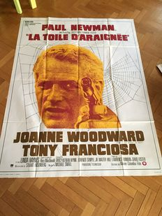 Paul Newman - Four original French movie posters - 120x160cm - The Color of Money, The Drowning Pool, Quintet, Hombre