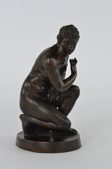 Bronze sculpture of Venus, 18th century
