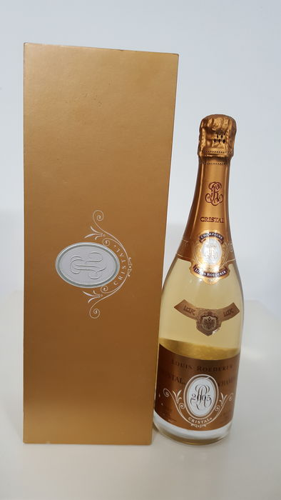 louis roederer cristal brut millesime champagne 2005 1 bottle catawiki. Black Bedroom Furniture Sets. Home Design Ideas