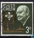Postage Stamps - Malta - Sir Winston Churchill