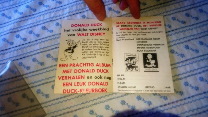 donald duck 36a werbespot 1966 inkl bonus niederl ndisch catawiki. Black Bedroom Furniture Sets. Home Design Ideas