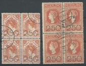 Check out our The Netherlands 1920 – Clearance release – NVPH 104/105 in blocks of 4