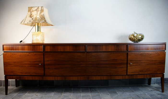 musterring rosewood sideboard catawiki. Black Bedroom Furniture Sets. Home Design Ideas