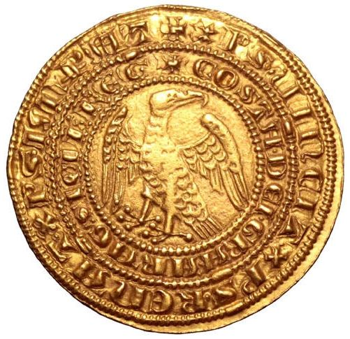 Kingdom of Sicily - Pierreale 1182-1185 - Messina Mint - Constance of Svevia and Peter III of Aragon (1282-1285) - Gold