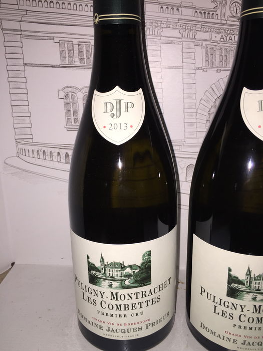 2013 puligny montrachet 39 les combettes 39 premier cru domaine jacques prieur x 2 bouteilles catawiki. Black Bedroom Furniture Sets. Home Design Ideas