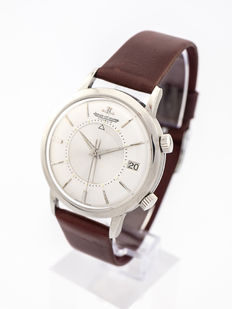 Jaeger-LeCoultre Memovox Jumbo men's watch with alarm function and date, 1950s