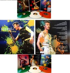 "David Bowie  3 LP Set  ""Dublin: I'm In Clover""  -  In 3 Panel Foldout Sleeve   -  500 Copies Only  !!"