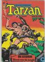 Bandes dessinées - Tarzan - 2 Avonturen De storm + Bloed over de jungle