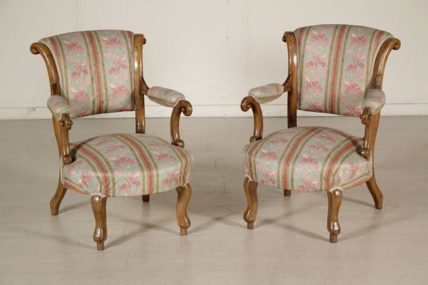 Living room set consisting of a pair of armchairs a pair for Pair of chairs for living room