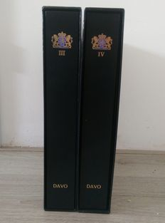 Netherlands 1867/1999 - collection in 2 Davo-LX albums including coffer and batch in stock book