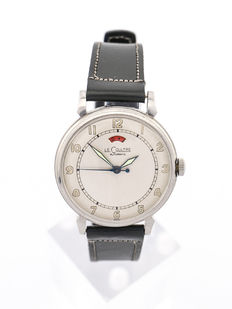 LeCoultre POWERMATIC men's watch, military style, 50s