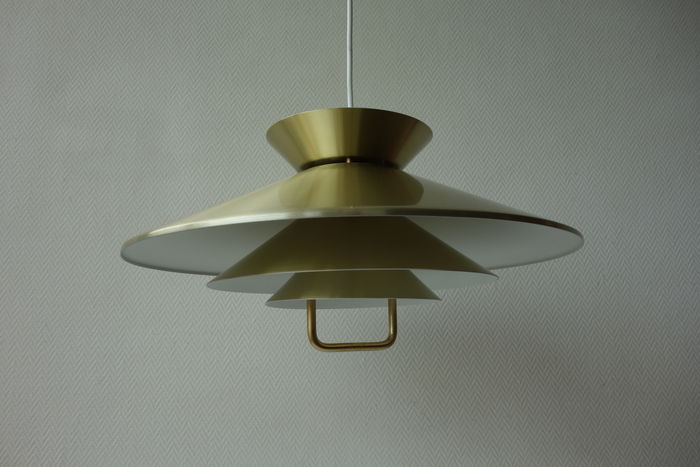 Unknown designer for jeka attr pendant lamp made of brass coated