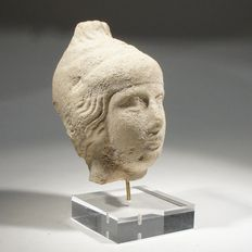 Greek head of a youth - 6,5 cm