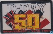 D-Day 50 anniversary year