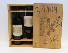 1973 Chateau Lafite Rothschild – 2 Magnum Bottles with original box
