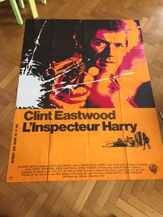 Clint Eastwood - 6x French original movie poster - different sizes - Dirty Harry, For a Few Dollars More, Tightrope, Josey Wales