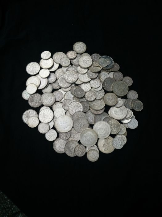 1 kilo of Dutch coins silver net