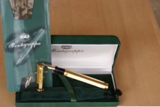 Very Rare and Luxurious 14K Montegrappa Fountain Pen