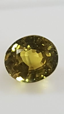 Yellow Sapphire - 2.19 ct - No minimum price