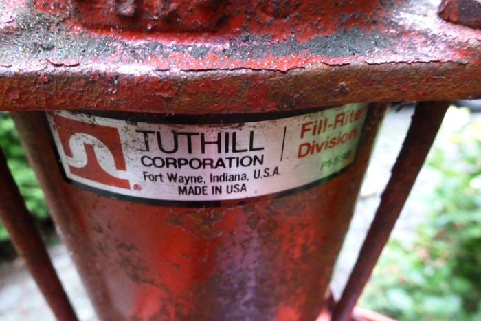 Tuthill, made in USA - Pump with Eurol barrel for
