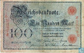 Reichsbanknote, 100 Mark 1905 (R23a)