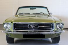 Ford - Mustang descapotable - 1967