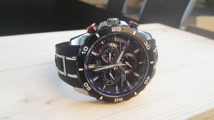 a3324d9b8 Citizen - Limited Edition Atomic Perpetual Eco-Drive Chronograph 1119/2500 Men's  watch
