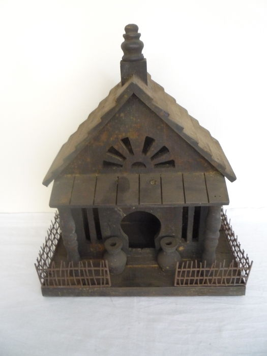 Decorative bird house in oriental style catawiki for Bird house styles
