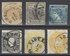 Austria from 1850 - Lot with stamps