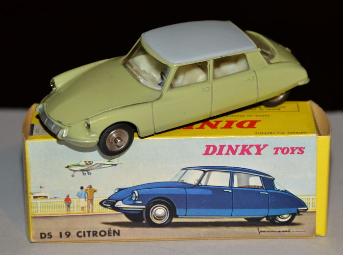 dinky toys france chelle 1 43 citroen ds 19 catawiki. Black Bedroom Furniture Sets. Home Design Ideas