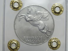 Republic of Italy - 10 Lira coin - 1946 - 'Pegaso' ['Pegasus']