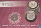 "Hungary 50 forint 2016 (coincard) ""70 years of forint"""