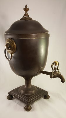 Russian copper and brass Samovar - around 1850