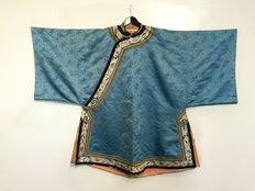 Lovely antique Silk Robe - China -  19th century